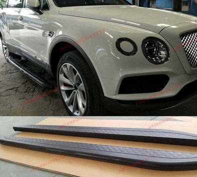 BENTLEY BENTAYGA ELECTRIC SIDE STEP RUNNING BOARDS 2015 - 2020