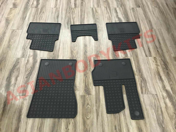 FLOOR MATS for MERCEDES BENZ G Class W463A W464 G63 G500 G550 2018+