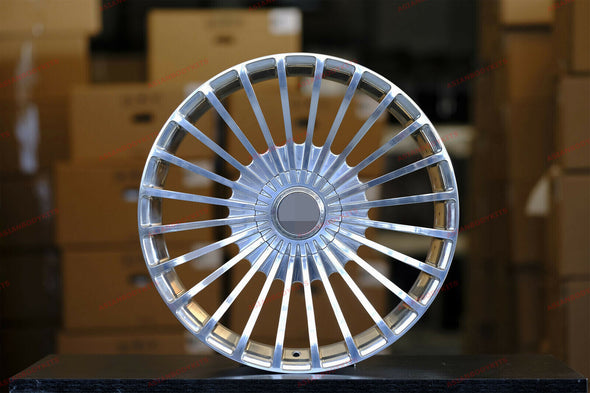 FORGED WHEELS 22 Inch for Mercedes Benz GLS X166 22x10 Maybach