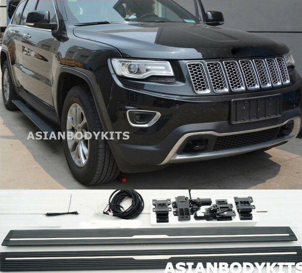 Jeep Grand Cherokee 14-17 SIDE STEP ELECTRIC Deployable running boards power