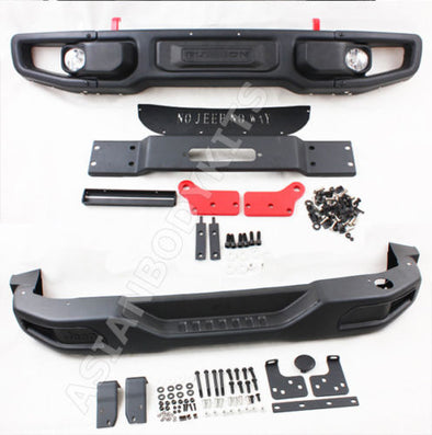 Jeep Wrangler JK FRONT REAR BUMPERS