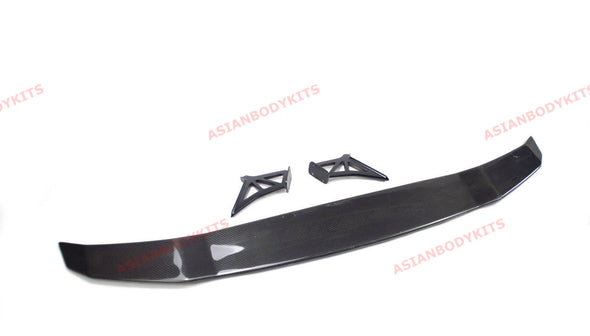 DRY CARBON FIBER REAR SPOILER WING VRS for LAMBORGHINI HURACAN LP 610 2016 - 20