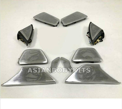 LOUD SPEAKERS COVER KIT with ambient light for BMW 5