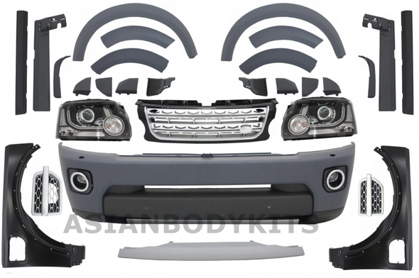Conversion Facelift Body Kit for Land Rover Discovery 3 to Discovery 4 (2005-09)