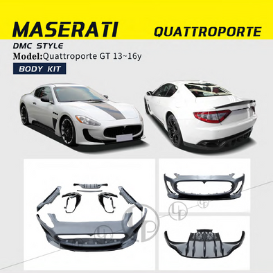 Maserati front bumper,rear bumper assembly  , front fenders  , spoiler