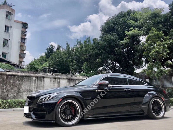 for Mercedes-Benz C-class coupe C63 AMG WIDE BODY KIT (2015-2018)
