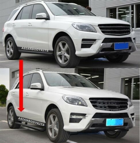 for Mercedes Benz ML 166 SIDE STEP ELECTRIC Deployable running boards 2012-2015
