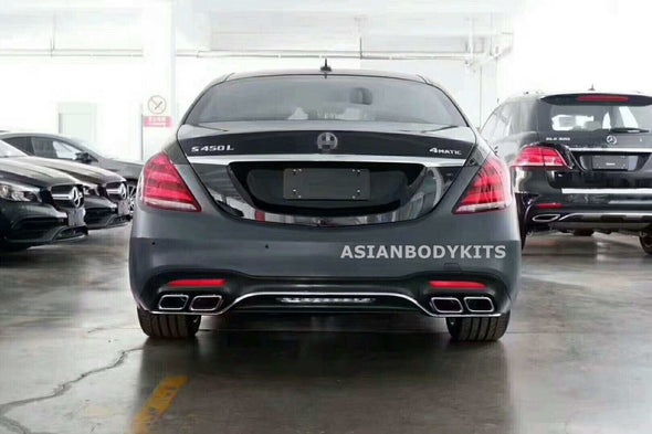for Mercedes Benz W222 S Class AMG 2018+ S63 BODYKIT for facelift model
