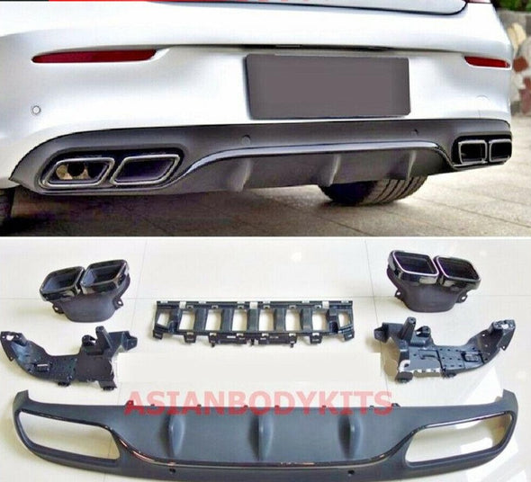 Mercedes-Benz C-class COUPE C205 AMG C63 REAR DIFFUSER
