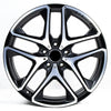 63 AMG 21 INCH RIM SET G-CLASS W463 5-DOUBLE-SPOKE-WHEEL BLACK GENUINE MERCEDES-BENZ
