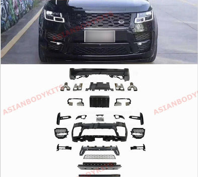 BUMPER MUFFLER TIPS body kit range rover vogue