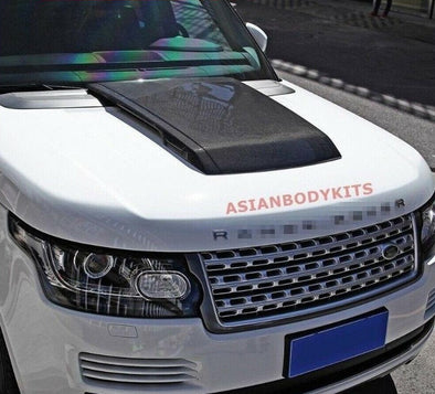 Range Rover Vogue Carbon fiber HOOD SCOOP