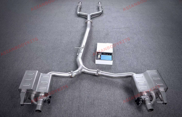 VALVED EXHAUST CATBACK for Mercedes Benz AMG W205 C205 C43 2015 - 2018 (3.0T)