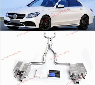 Mercedes Benz AMG VALVED EXHAUST CATBACK