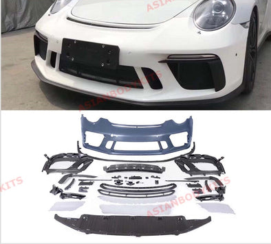 FRONT BUMPER UPGRADE for PORSCHE 911 CARRERA 991 GT3 RS C4S 2012 - 2016