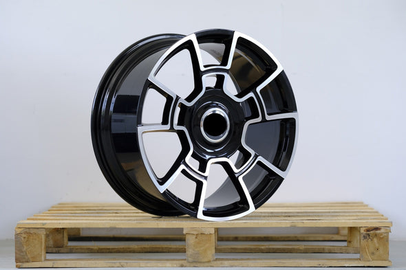 "20"" 21"" 22"" 23"" 24"" inch Forged wheels for Rolls-Royce Black Badge Cullinan, Ghost, Dawn, Wraith, Phantom, Drophead  RR06"