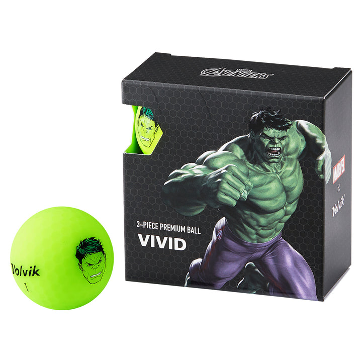 VOLVIK VIVID MARVEL Pack  ハルク 4P