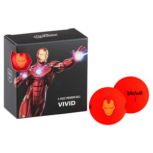 VOLVIK VIVID MARVEL Pack  アイアンマン 4P