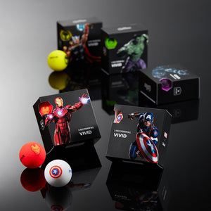 VOLVIK VIVID MARVEL Pack  スパイダーマン 4P