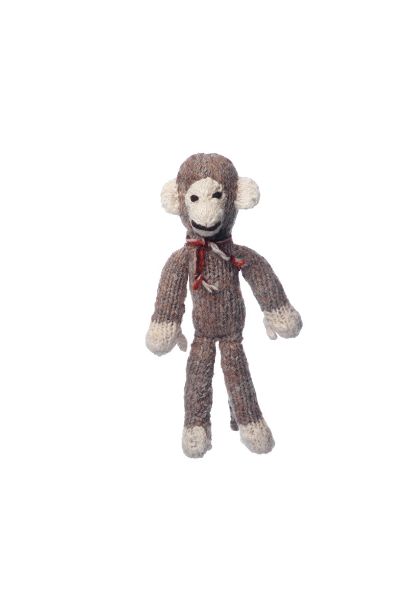 spider monkey small wool