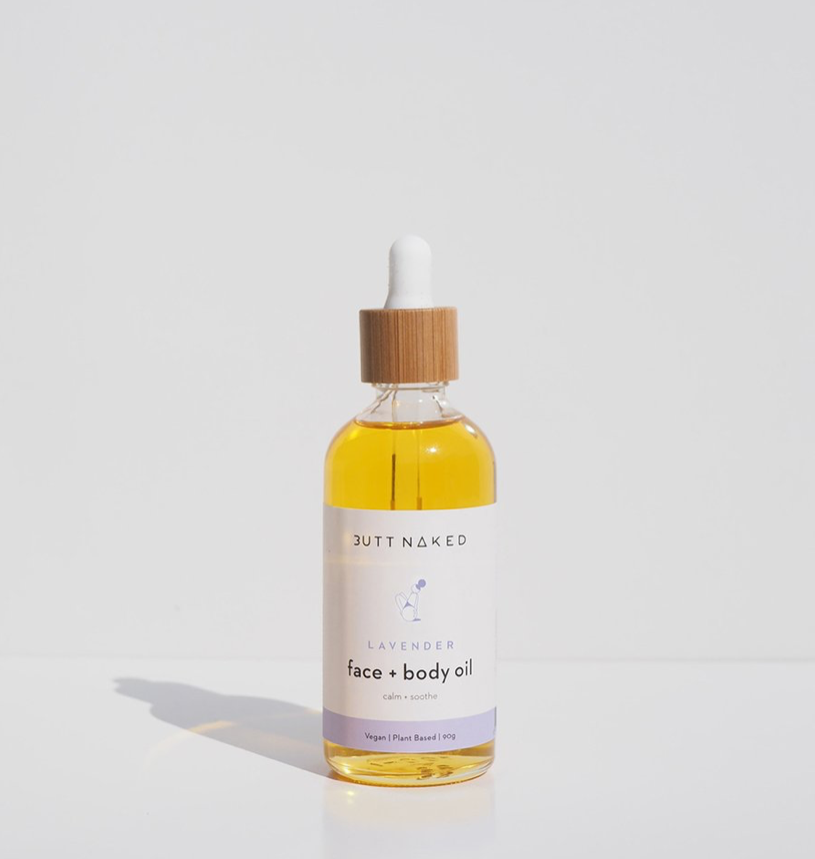 lavender body & face oil