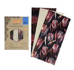 beeswax wraps medium pack 3