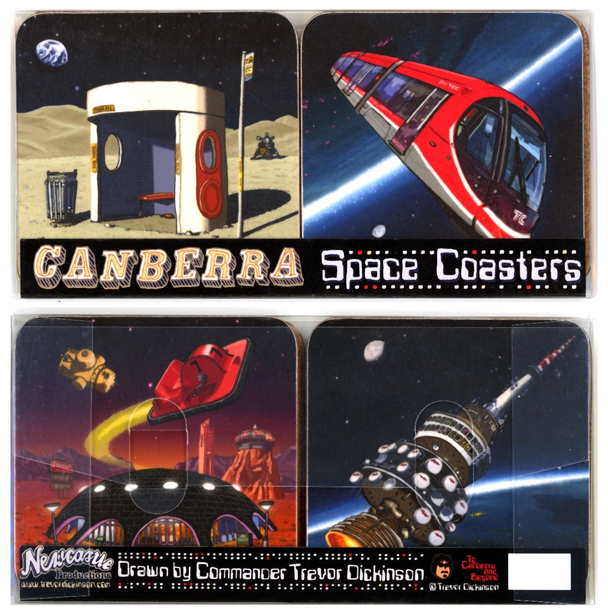 canberra coaster set