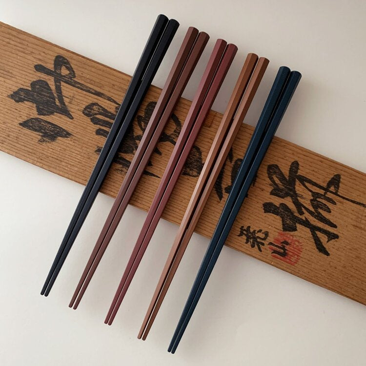 hexagonal chopsticks