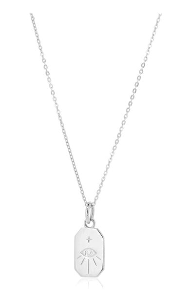 protection amulet necklace silver