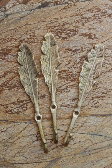brass leaf hook