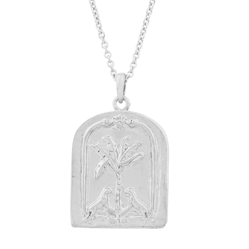 face yourself or run necklace silver
