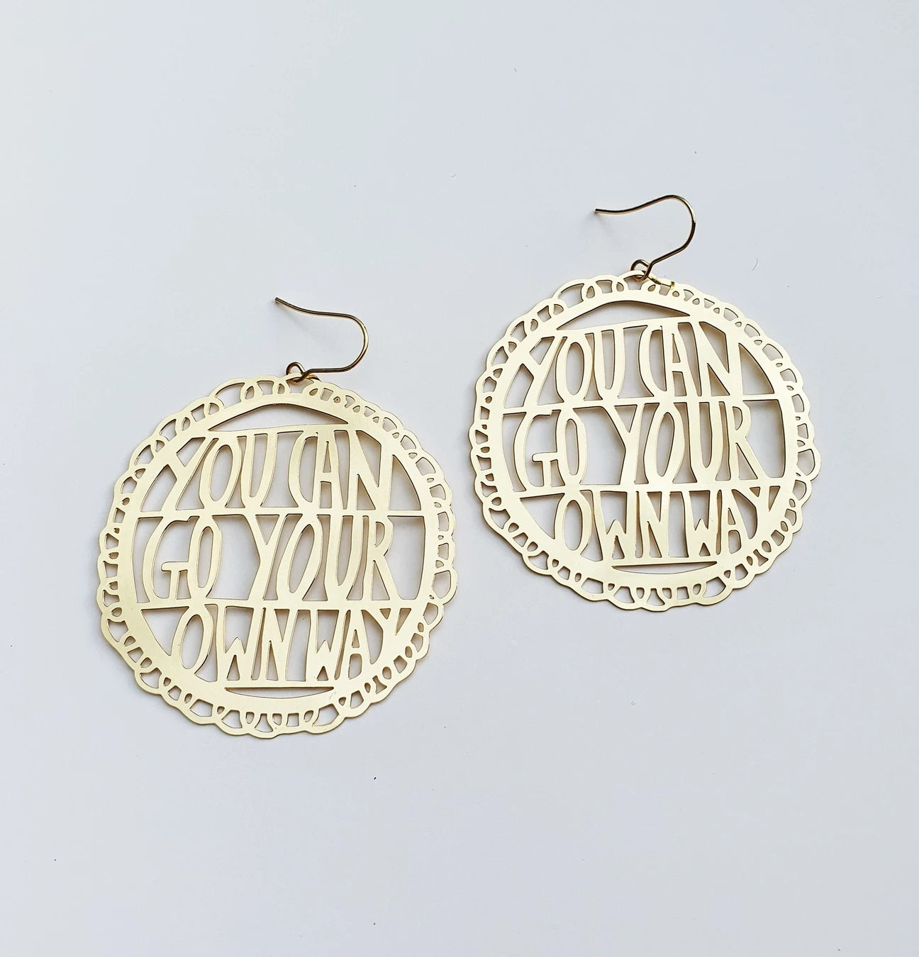 you can go your own way earrings