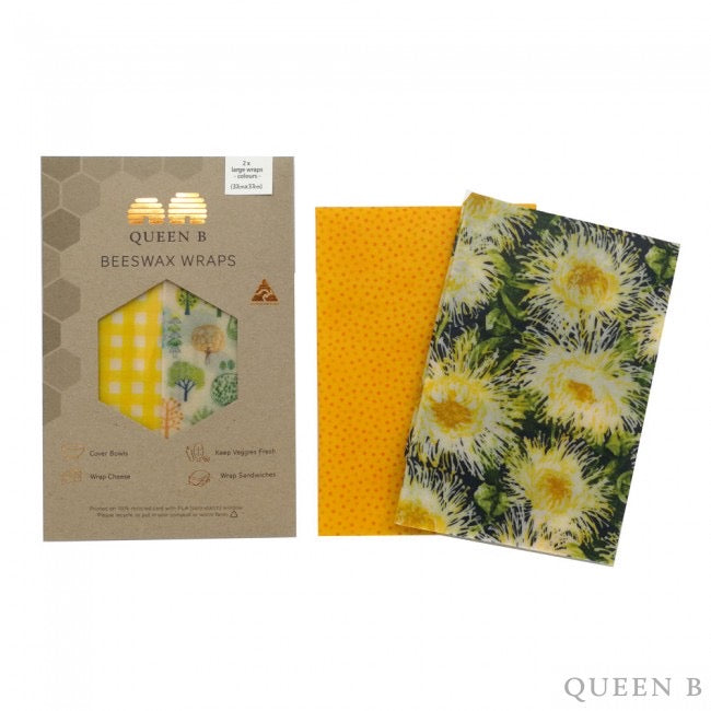 beeswax wraps large pack 2