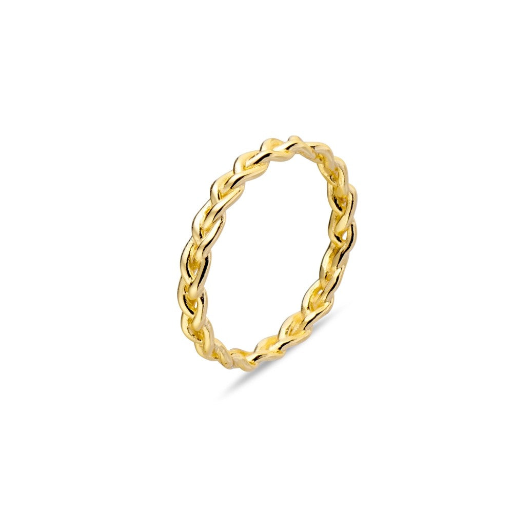 plaited rope ring