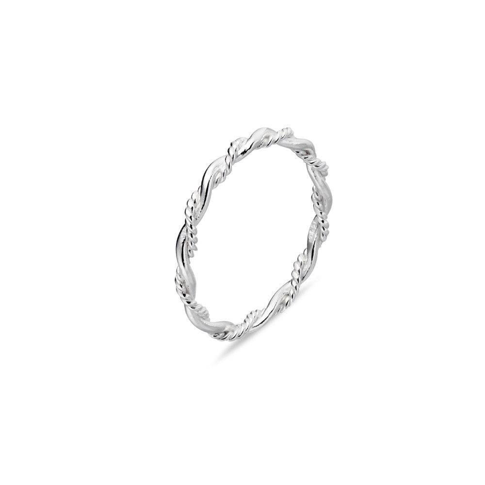 rope twist ring