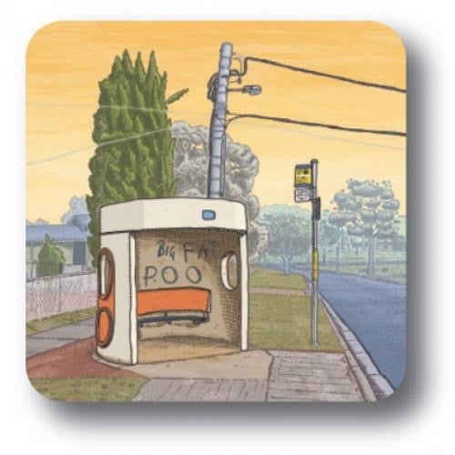 bus shelter coaster