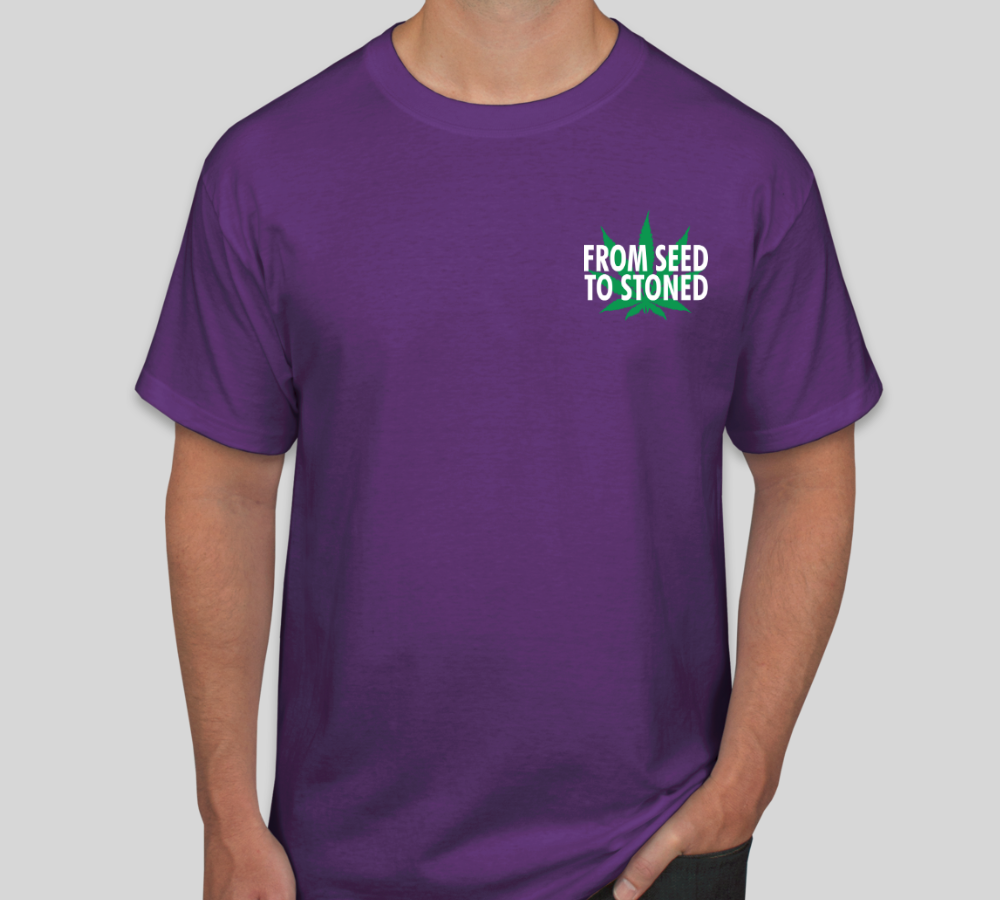 Happy Growing Purple Tee 1st Edition