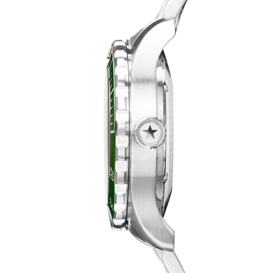 Diver 3H - SS Green Dial - Stainless Steel Bracelet
