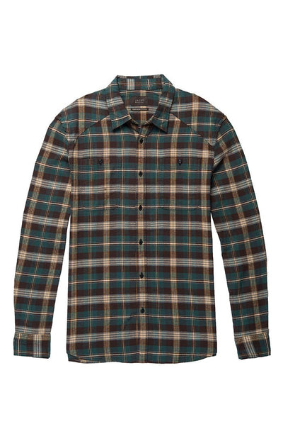 Plaid Flannel Shirt - Green