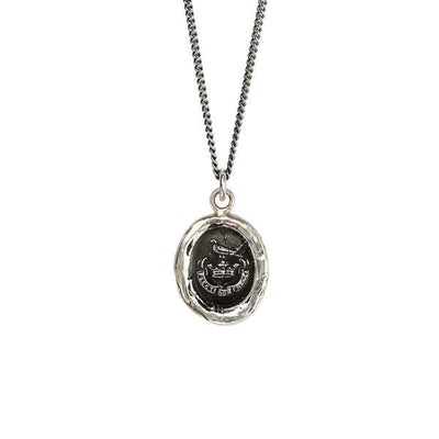 Sterling Silver Talisman Necklace - Unbreakable