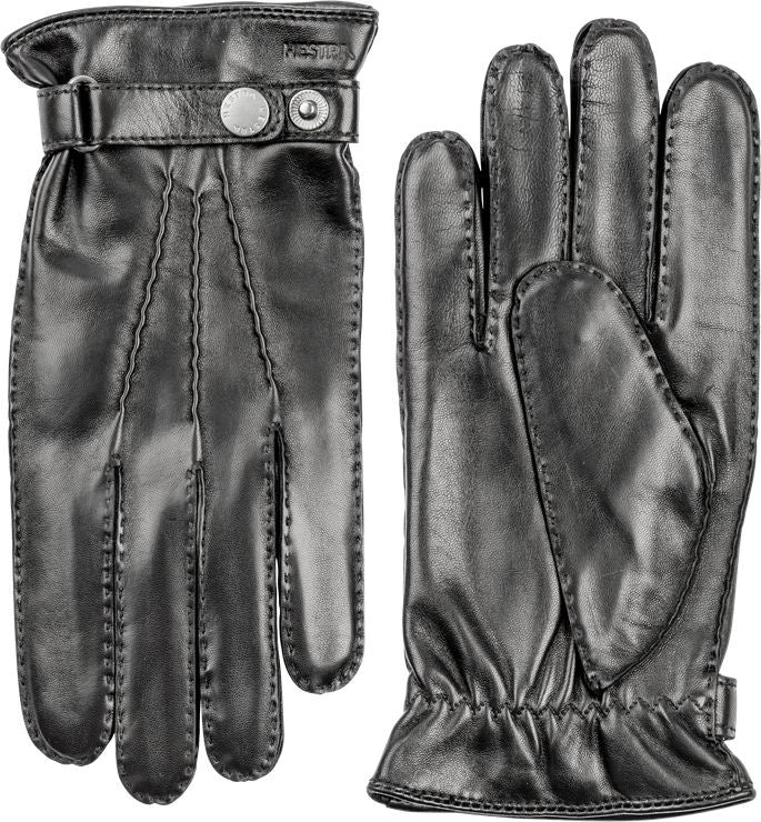 Jake Leather Glove - Black