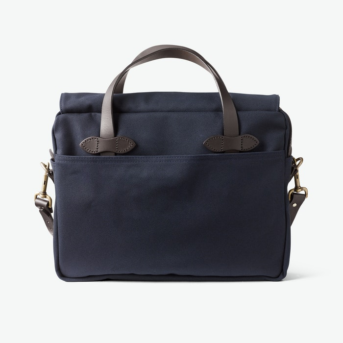 Original Briefcase in Rugged Twill - Navy