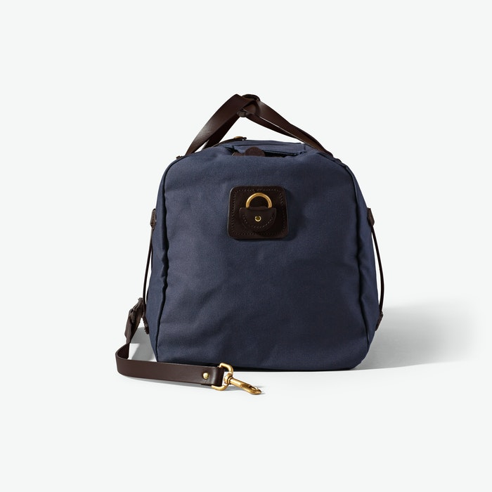 Medium Duffle in Rugged Twill - Navy