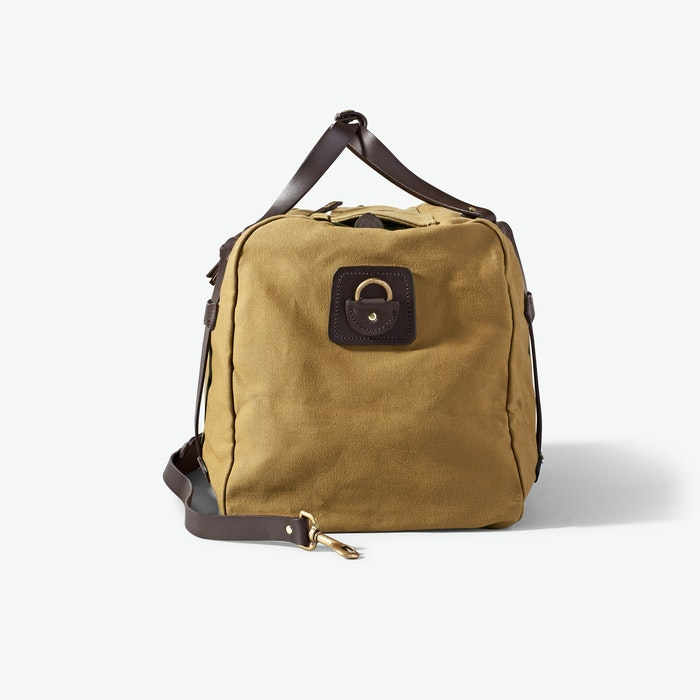 Medium Duffle in Rugged Twill - Tan