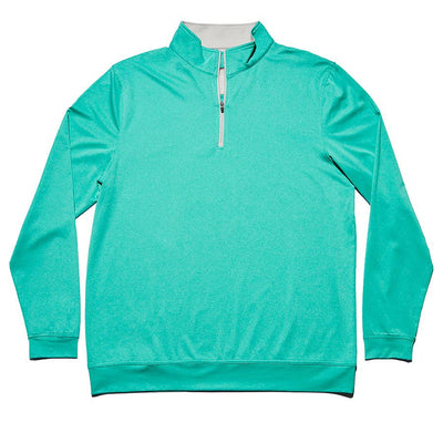 Performance Quarter Zip Pullover - Blue Haze