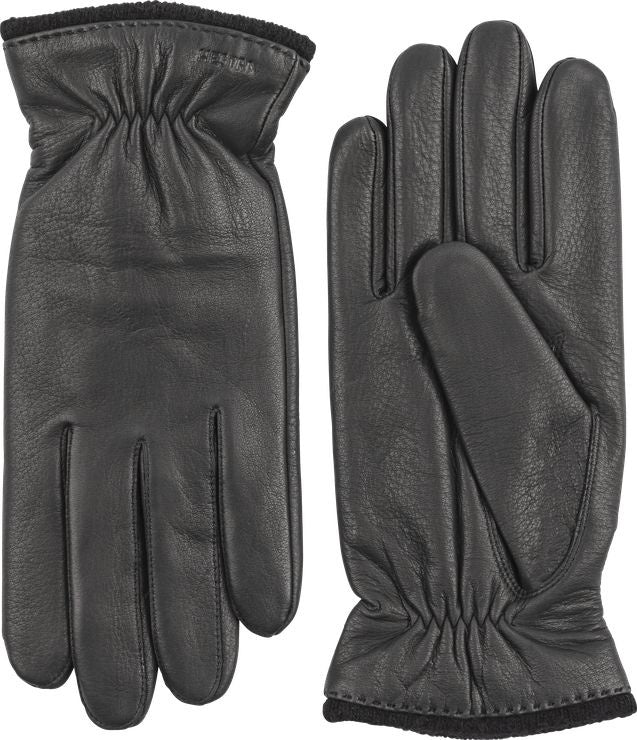 Samuel Leather Glove - Black