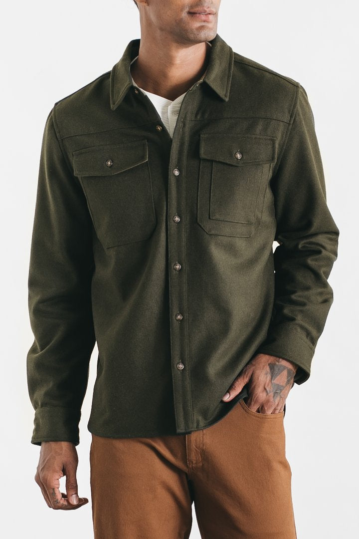 Fielding Overshirt - Olive