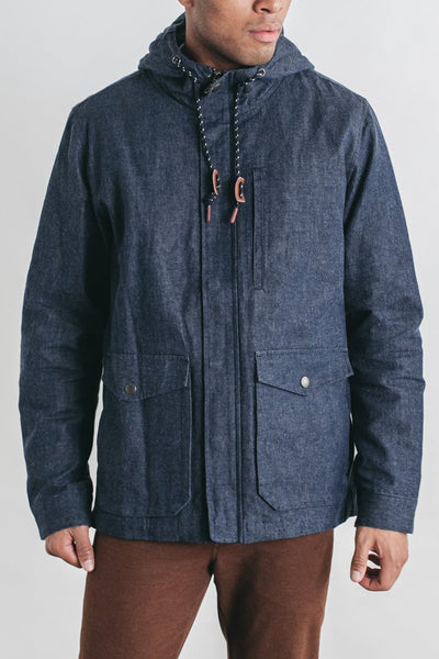 Jonah Waxed Denim Jacket