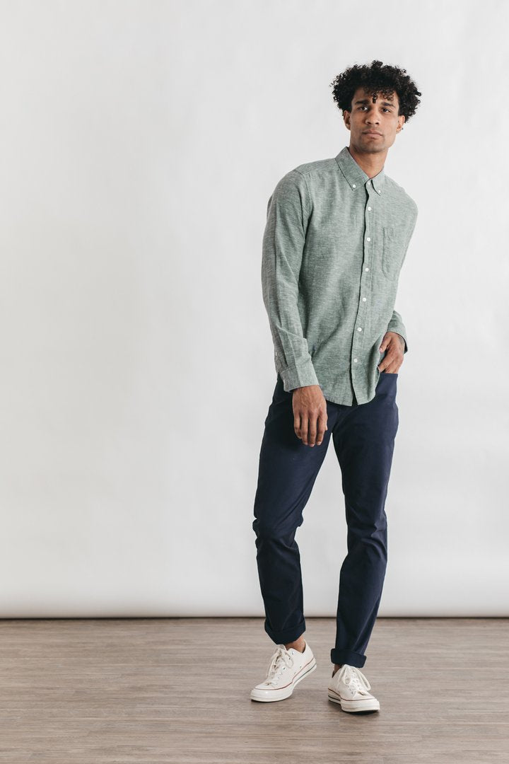Sutton Spruce Chambray