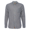 Truman Button Collar Double Face - Grey